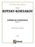 Rimsky-Korsakov: Capriccio Espagnole Piano Duet - Piano Duets & Four Hands
