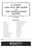 O Canada / God Save the Queen / Star-Spangled Banner - Concert Band
