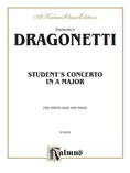 Dragonetti: Student's Concerto in A Major - String Instruments