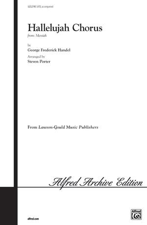 Hallelujah Chorus (Key of C) - Choral