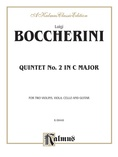 Boccherini: Second Quintet in C Major, for Two Violins, Viola, Cello and Guitar - String Ensemble