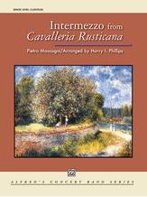 Intermezzo from Cavalleria Rusticana - Concert Band
