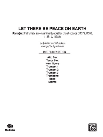 Let There Be Peace on Earth - Choral Pax