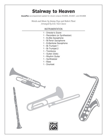 Stairway to Heaven: Tenor Saxophone: Led Zeppelin | Choral Pax