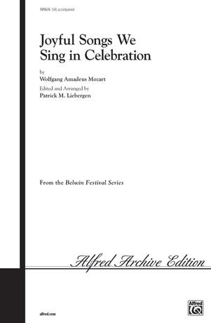 Joyful Songs We Sing in Celebration - Choral