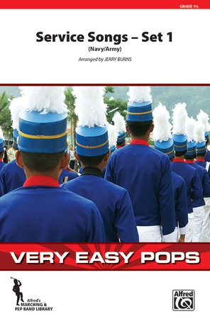 Service Songs - Set 1 (Navy/Army) - Marching Band