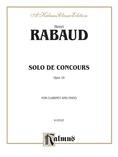 Rabaud: Solo de Concours, Op. 10 - Woodwinds