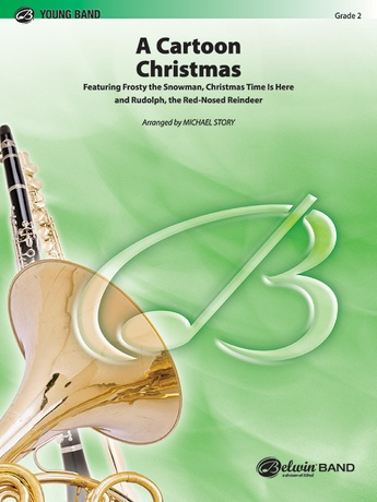 A Cartoon Christmas - Concert Band