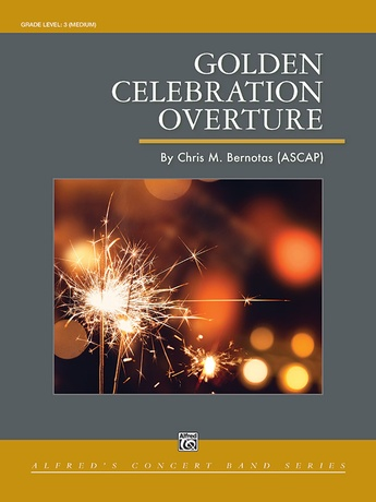 Golden Celebration Overture - Concert Band