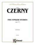 Czerny: Five Finger Studies, Op. 777 - Piano