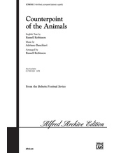 Counterpoint of the Animals - Choral