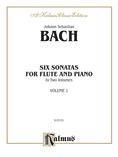 Bach: Six Sonatas, Volume I (Nos. 1-3) - Woodwinds