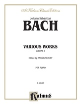 Bach: Various Works (Volume II) - Piano