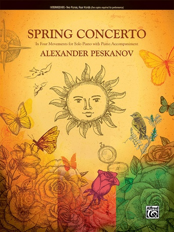 Spring Concerto: In Four Movements for Solo Piano with Piano Accompaniment - Piano Duo (2 Pianos, 4 Hands) - Piano Duets & Four Hands