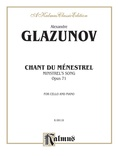 Glazunov: Chant du Ménestrel, Op. 71 - String Instruments