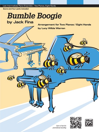 Bumble Boogie - Piano Quartet (2 Pianos, 8 Hands) - Piano