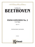 Beethoven: Piano Concerto No. 2 in B flat Major, Opus 19 - Piano Duets & Four Hands