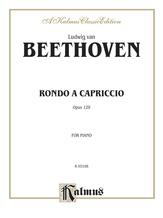 Beethoven: Rondo a Capriccio - Piano