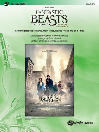 Suite from Fantastic Beasts and Where to Find Them: E-flat