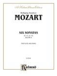 Mozart: Six Sonatas, Volume II (Nos. 4-6) - Woodwinds