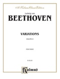 Beethoven: Variations (Volume II) - Piano
