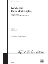 Kindle the Hanukkah Lights - Choral