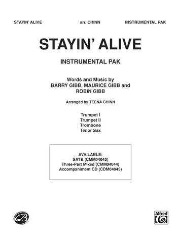 Stayin' Alive (A Medley of Hit Songs Recorded by the Bee Gees) - Choral Pax