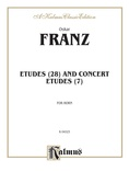 Franz: Etudes and Concert Etudes - Brass