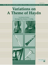 Variations on a Theme of Haydn - Full Orchestra