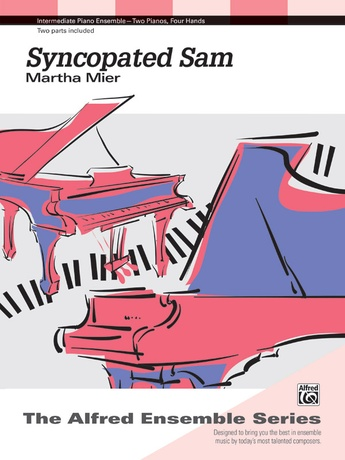 Syncopated Sam - Piano Duo (2 Pianos, 4 Hands) - Piano Duets & Four Hands