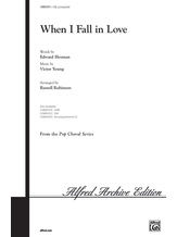 When I Fall in Love - Choral