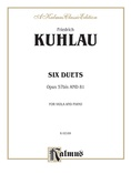 Kuhlau: Six Duets, Op. 57bis and 81 - Woodwinds