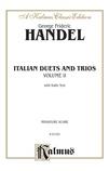 Handel: Italian Duets and Trios, Volume II (Italian) - Voice