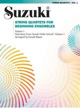 String Quartets for Beginning Ensembles, Volume 1 - String Quartet