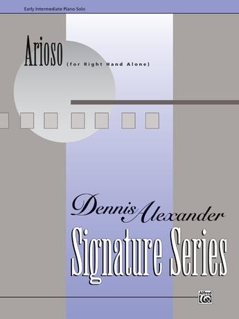 Arioso (for right hand alone) - Piano Solo - Piano