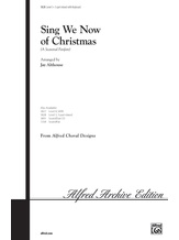 Sing We Now of Christmas (A Seasonal Fanfare) - Choral