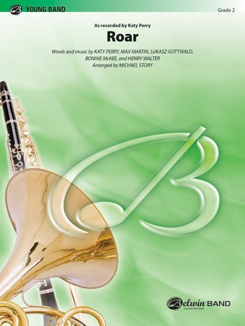 Roar: 2nd B-flat Clarinet: Katy Perry | Concert Band Sheet Music