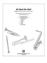 All Shall Be Well - Choral Pax