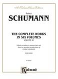 Schumann: Complete Works (Volume III) - Piano