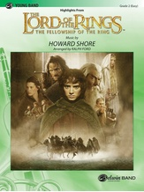 The Lord of the Rings: The Fellowship of the Ring, Highlights from - Concert Band