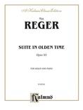 Reger: Suite in Olden Time, Op. 93 - String Instruments
