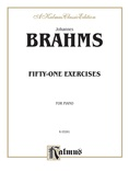 Brahms: Fifty-one Etudes - Piano