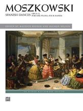Moszkowski: Spanish Dances, Opus 12 - Piano Duet (1 Piano, 4 Hands) - Piano Duets & Four Hands