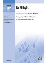 It's All Right - Choral
