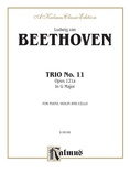 Beethoven: Trio No. 11, Op. 121a, in G Major (for piano, violin, and cello) - String Ensemble