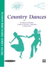 Country Dances - Piano Quartet (2 Pianos, 8 Hands) - Piano