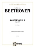 Beethoven: Piano Concerto No. 3 in C Minor, Opus 37 - Piano Duets & Four Hands