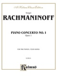 Rachmaninoff: Piano Concerto No. 1 in F sharp Minor, Op. 1 - Piano Duets & Four Hands