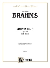 Brahms: Sonata No. 1 in E Minor, Op. 38 - String Instruments