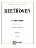 Beethoven: Symphonies (Nos. 1-5) (Arr. Franz Liszt) - Piano